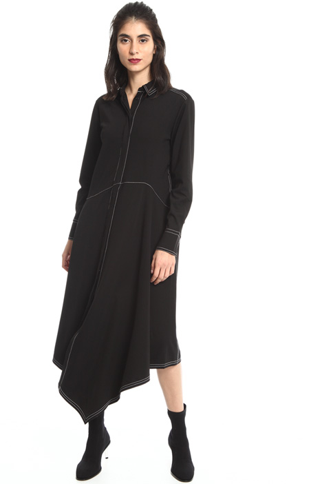 Asymmetrical dress Intrend