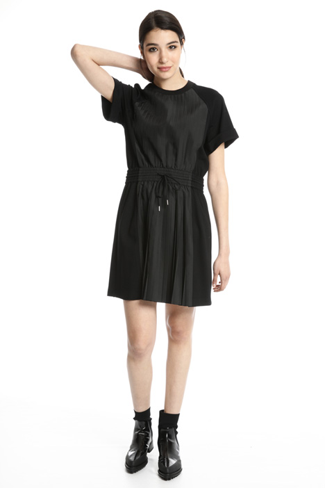 Pleated viscose dress Intrend