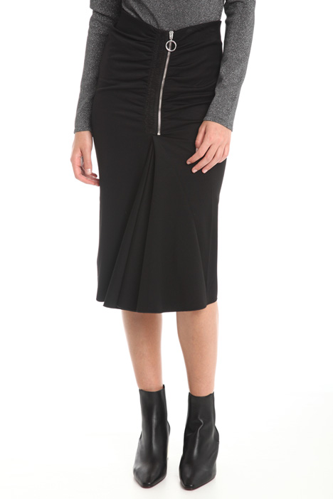 Skirt with wide pleats Intrend