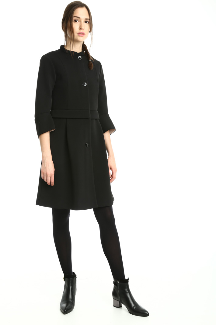 Double jersey duster coat Intrend