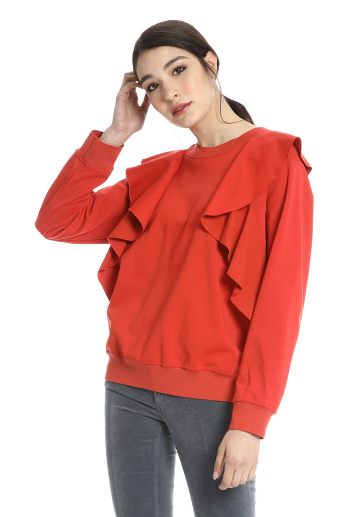 Tech cotton sweatshirt Intrend