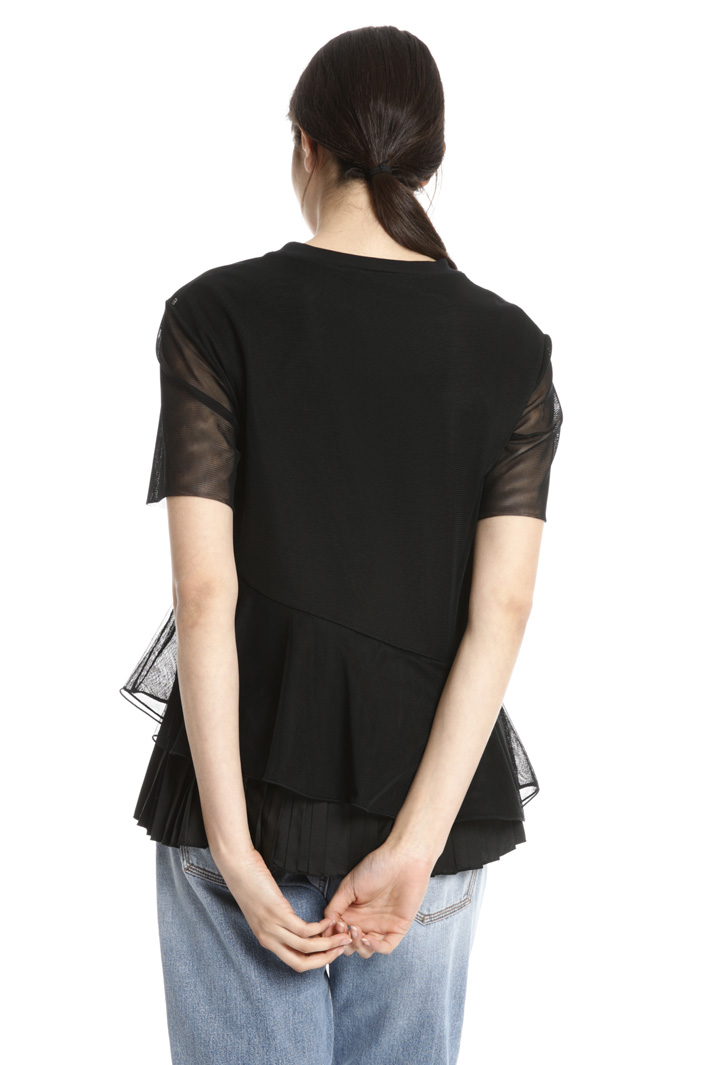 Tulle top Intrend