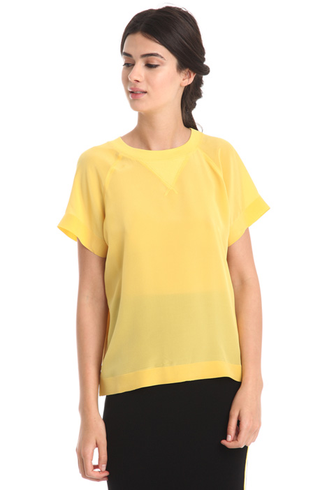 Double-fabric T-shirt  Intrend