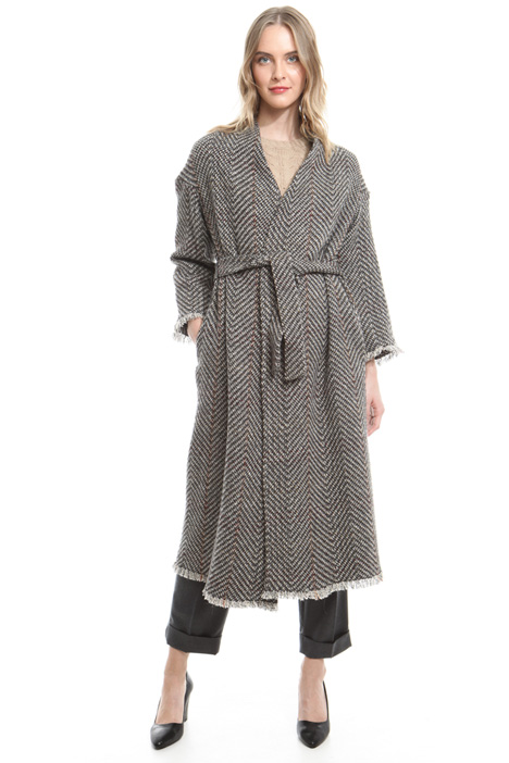 Long tweed coat Intrend