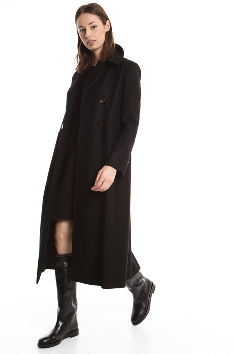 Cappotto lungo in lana Intrend