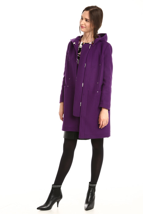 Hooded wool coat Intrend