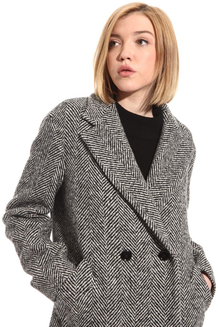 Chevron wool coat Intrend