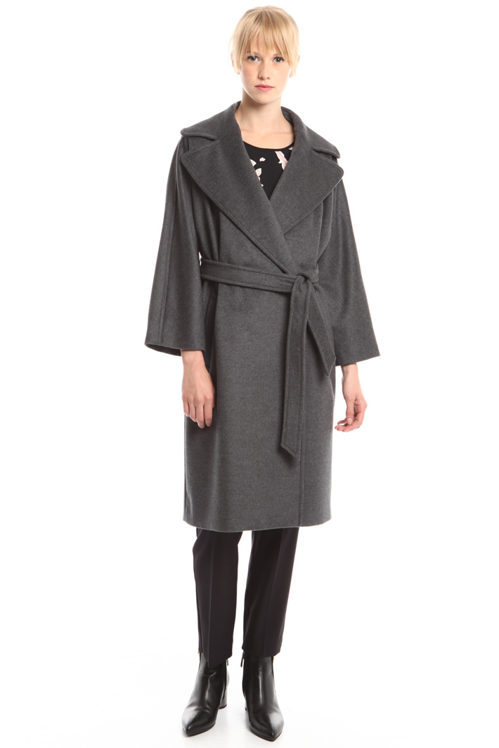 Wide lapel coat Intrend