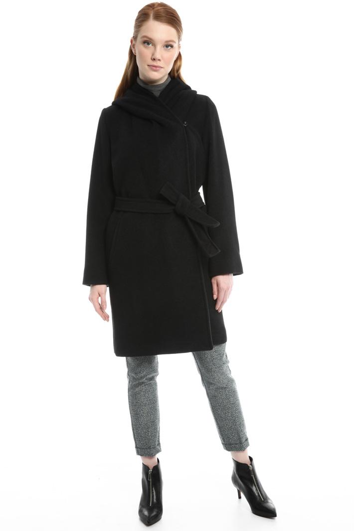 Cappotto in misto lana e seta Intrend