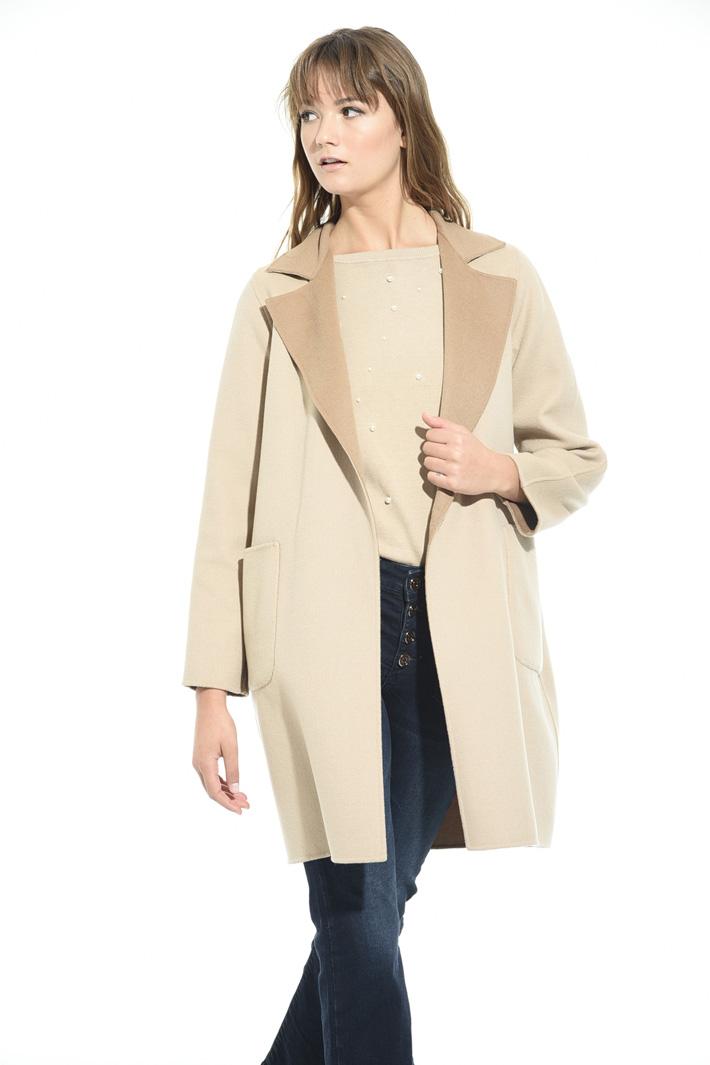 Wool virgin coat Intrend