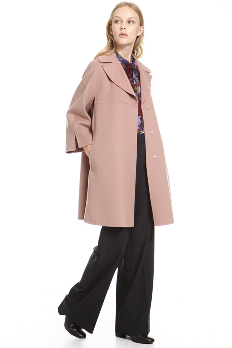 Wool double coat Intrend