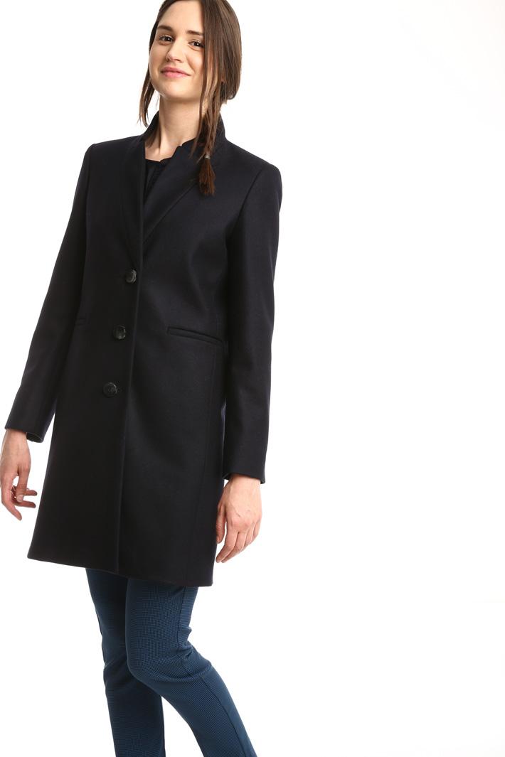 Cappotto in panno di lana Intrend