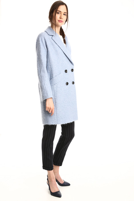 Cappotto in lana bouclé Intrend