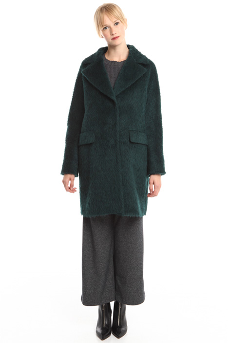 Brushed wool coat Intrend