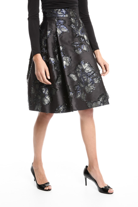 Fil coupé jacquard skirt Intrend