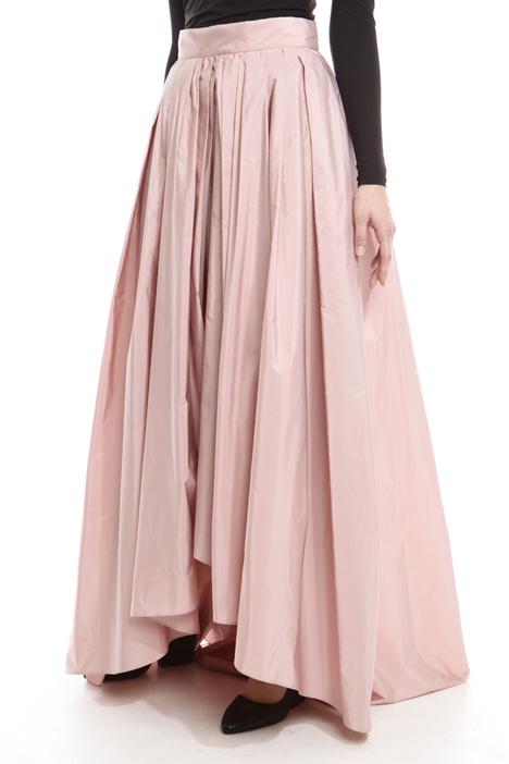 Wide taffeta skirt Intrend