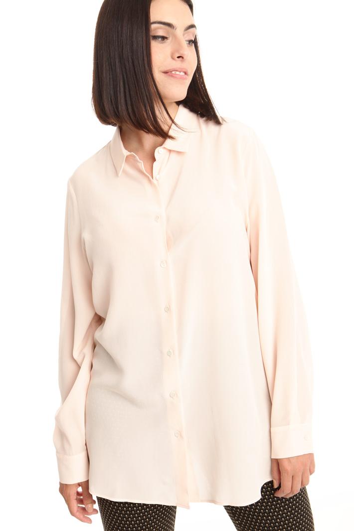 Camicia in crepe de chine Intrend