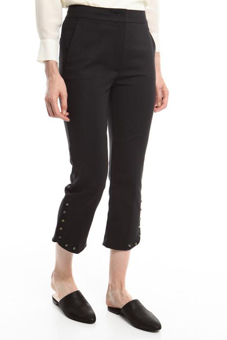 Pantaloni con bochie colorate Intrend