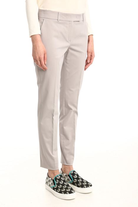Pantaloni stretch in cotone Intrend