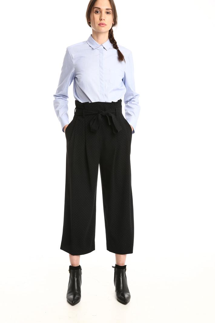 Pantaloni a vita alta Intrend