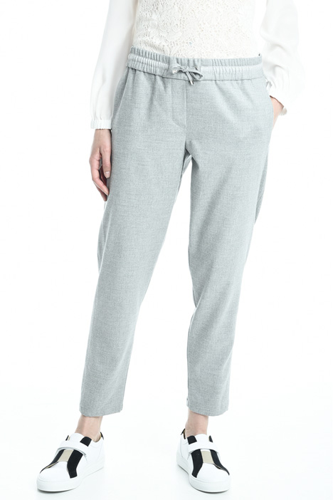 Pantalone jogging in flanella Intrend