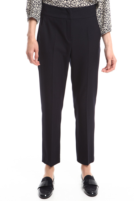 Pantaloni in crepe stretch Intrend