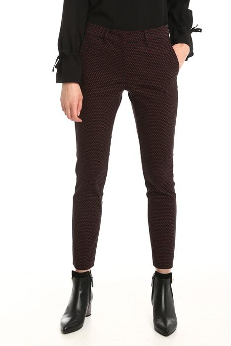 Pantalone jacquard stretch Intrend