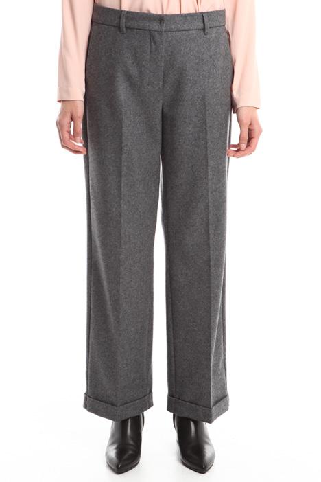 Pantaloni in panno leggero Intrend