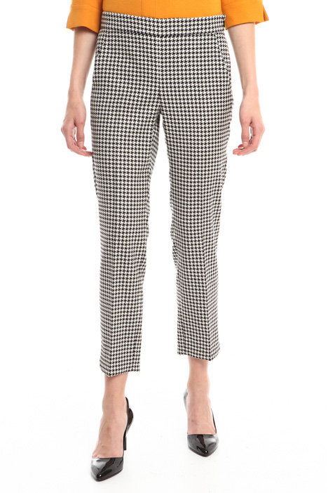 Wool jacquard trousers Intrend