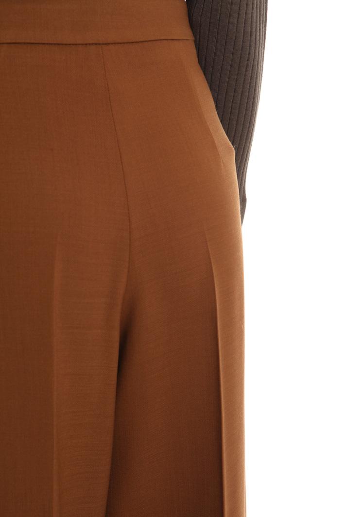 Pantaloni in tela di lana Intrend