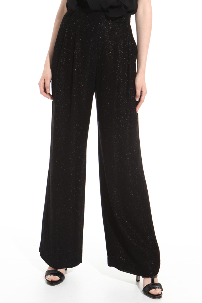 Fil coupé palazzo trousers Intrend