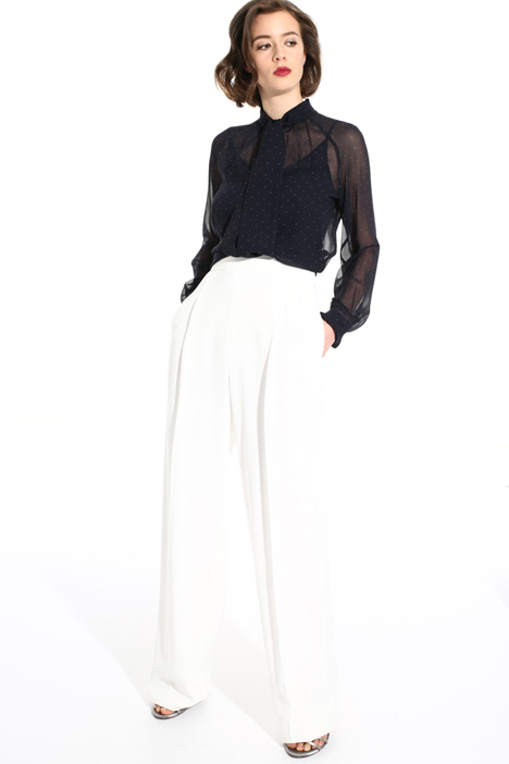 Long crepe trousers Intrend