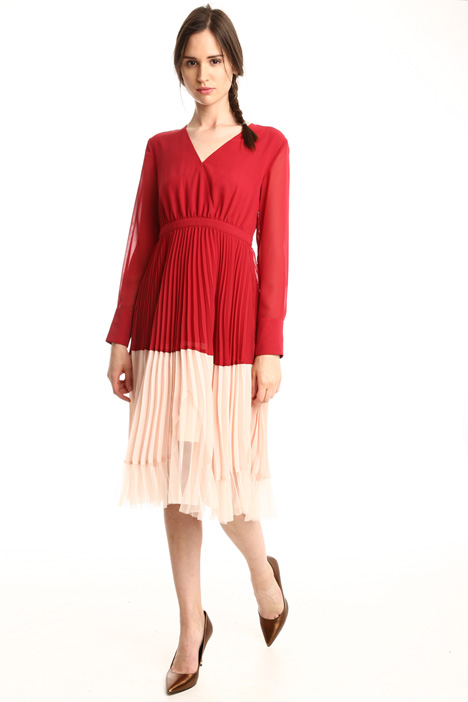 Georgette and tulle dress Intrend