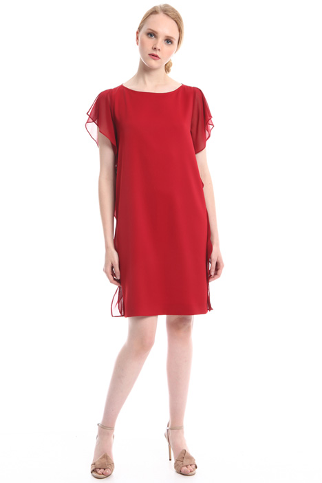Fluid ruffle dress Intrend