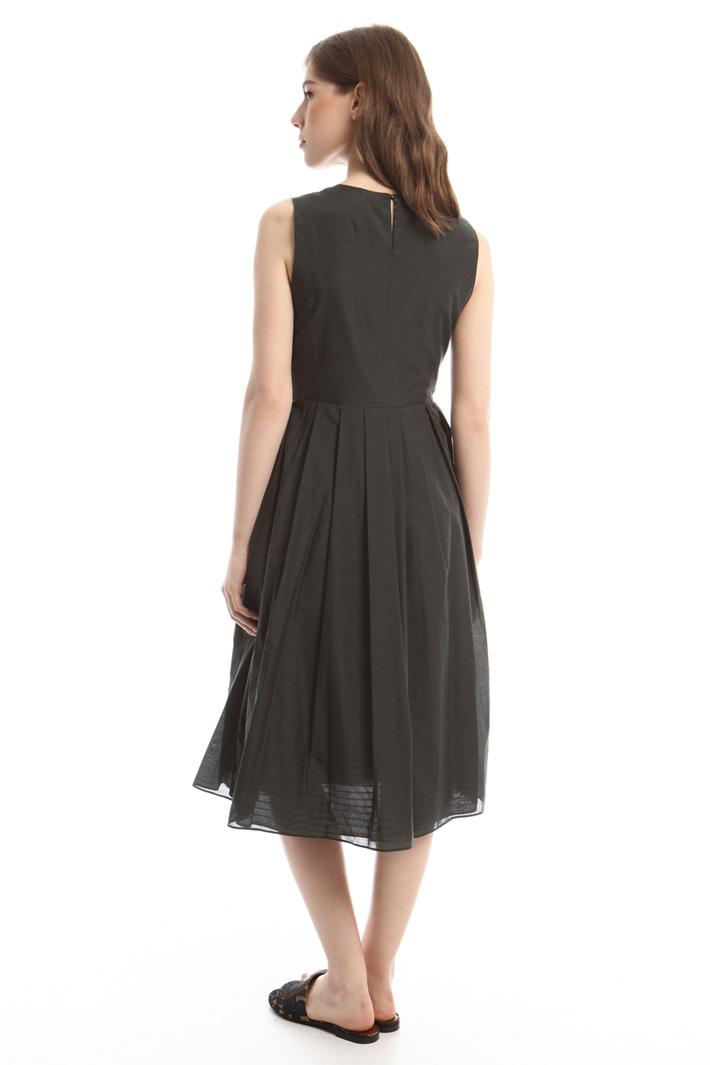 Lightweight canvas dress Intrend