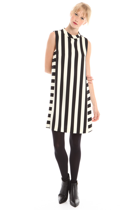 A-line printed dress Intrend
