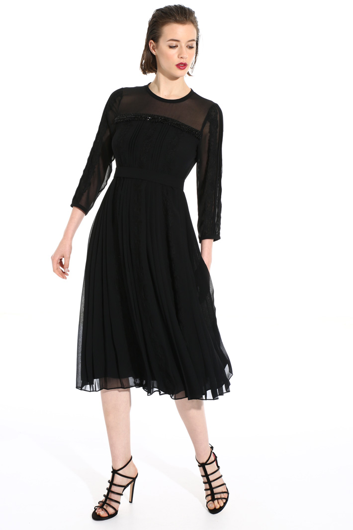 Georgette midi dress Intrend
