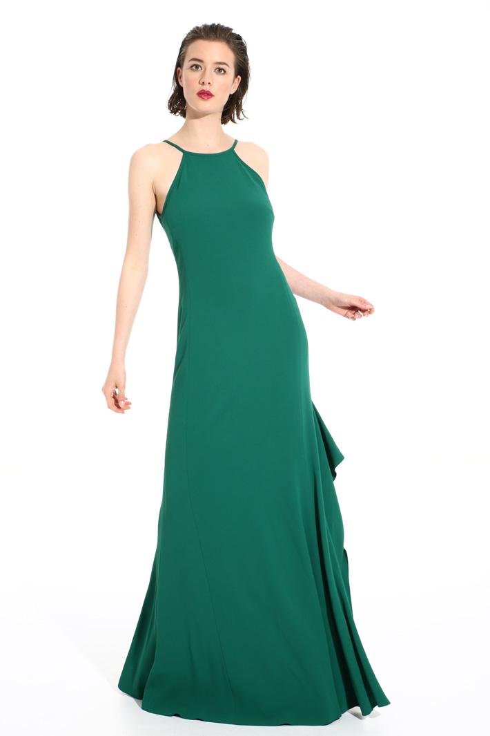 Long triacetate dress Intrend