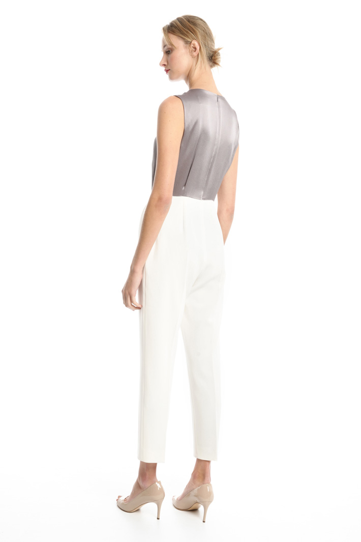 Silk and cady jumpsuit Intrend