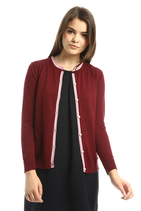 Cotton and silk cardigan Intrend