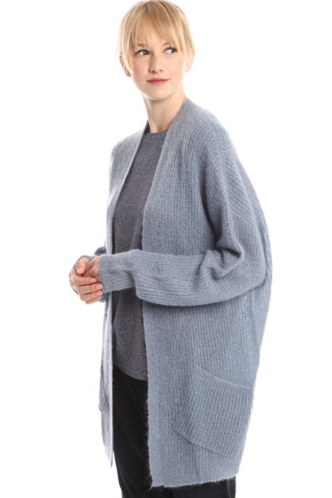 Cardigan aperto in mohair Intrend
