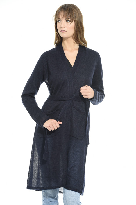 Long wool cardigan Intrend