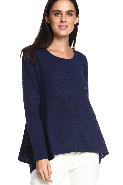 Flared hem sweater Intrend
