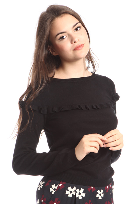 Sweater with frills Intrend