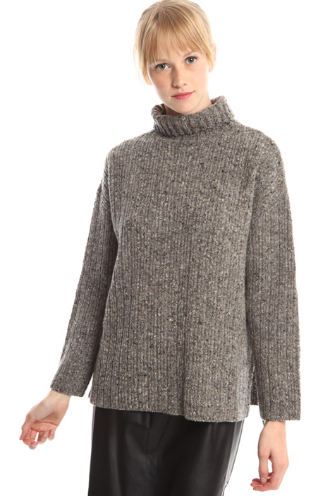 Boutonné wool sweater Intrend