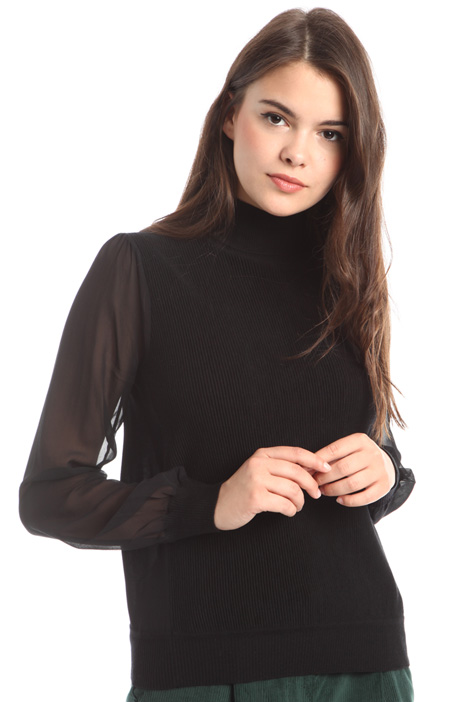 Silk sleeve sweater Intrend