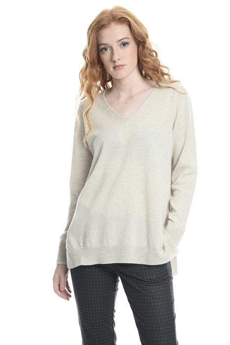 Wide cashmere sweater Intrend