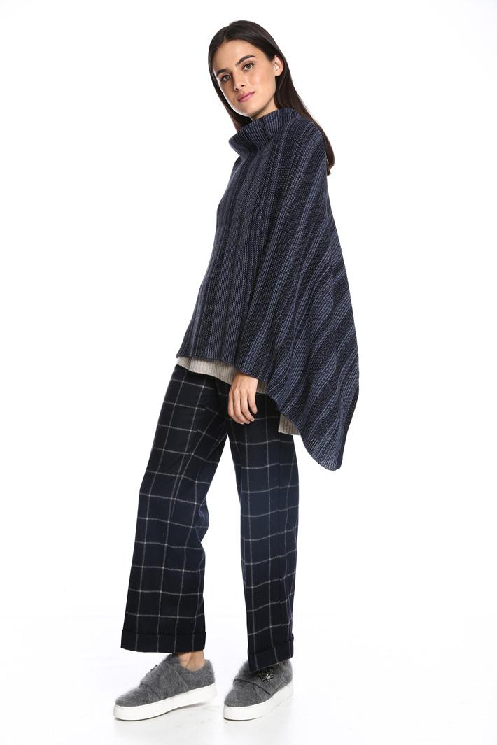 Poncho in maglia Intrend