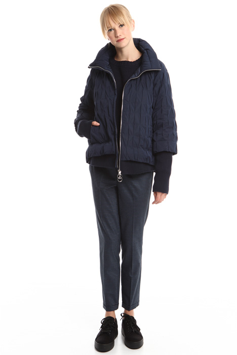 Wrinkled-effect padded coat Intrend