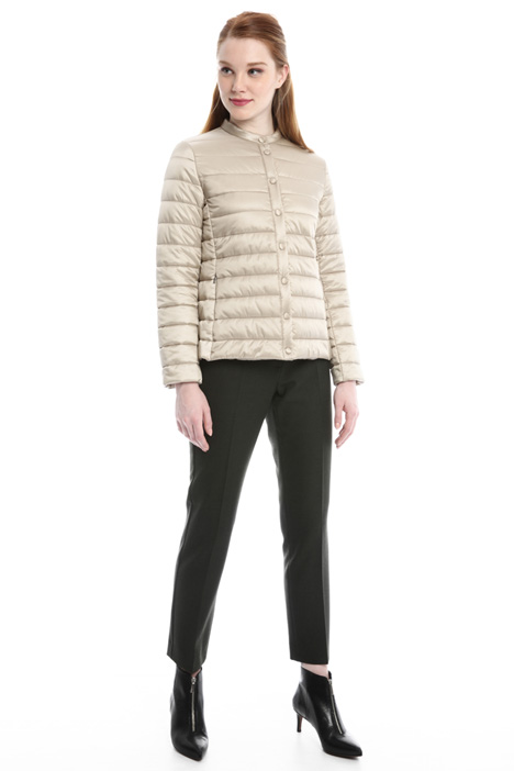 Satin-effect padded jacket Intrend